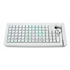 Программируемая клавиатура Posiflex KB-6800U-B черная c ридером магнитных карт на 1-3 дорожки