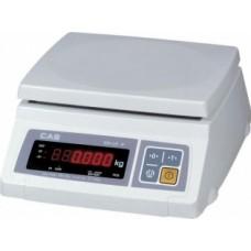 Весы CAS SW II-20 (двусторонний дисплей, LED)
