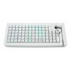 Программируемая клавиатура Posiflex KB-6800U c ридером магнитных карт на 1-3 дорожки