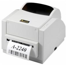 Argox A-2240-SB (термо/термотрансферная печать, интерфейс COM, USB, ширина печати 104 мм, скорость 127 мм/с, НОЖ)