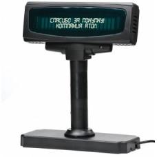 Дисплей покупателя АТОЛ PD-2100C, RS, черный, зеленый светофильтр