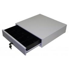 Денежный ящик EC-335 белый, 335*335*90, 24V