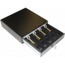 Денежный ящик EC-335В черный, 335*335*90, 24V