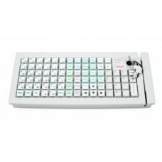 Программируемая клавиатура Posiflex KB-6600 c ридером магнитных карт на 1-3 дорожки