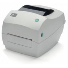 Zebra GC420d (203 dpi, RS232, USB, LPT, Отделитель, белый)