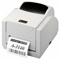 Argox A-3140-SB (термо/термотрансферная печать, 300 dpi, интерфейс LPT, COM, USB, ширина печати 104мм, скорость 102мм/с)