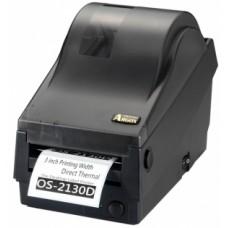 Argox OS-2130D-SB (термо печать, интерфейсы COM и USB, ширина печати 72 мм, скорость 104 мм/с, НОЖ)