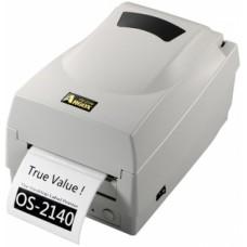 Argox OS-2140-SB (термо/термотрансферная печать, интерфейс COM, USB ширина печати 104мм, скорость 100 мм/с, НОЖ)