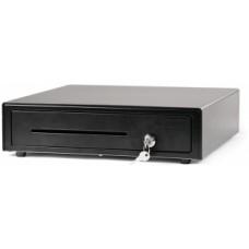 Денежный ящик АТОЛ M-410B черный, 410x415x100, 24V (Железный аргумент)