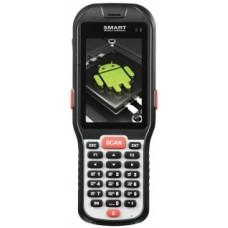 "Мобильный терминал АТОЛ SMART.DROID (Android 4.4, 1D Laser, 3.5"", 1Гбх4Гб, Wi-Fi b/g/n, Bluetooth, БП) + MS-1C-WIFI-DRIVER-PRO"